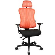 TOPSTAR Sitness 90 lososová - Kancelárska stolička
