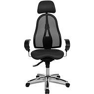 TOPSTAR Sitness 45 antracitová - Kancelárska stolička