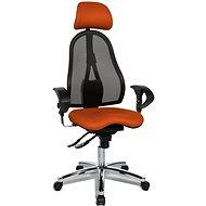 TOPSTAR Sitness 45 oranžová - Kancelárska stolička