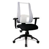 TOPSTAR Lady Sitness Deluxe bielo-čierna - Kancelárska stolička