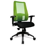TOPSTAR Lady Sitness Deluxe zeleno-čierna - Kancelárska stolička