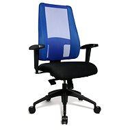 TOPSTAR Lady Sitness Deluxe modro-čierna - Kancelárska stolička