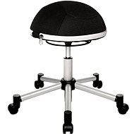 TOPSTAR Sitness Half Ball, čierna - Kancelárska stolička