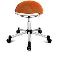 TOPSTAR Sitness Half Ball oranžová - Kancelárska stolička