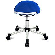 TOPSTAR Sitness Half Ball modrá - Kancelárska stolička