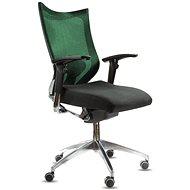 SPINERGO Office zelená - Kancelárska stolička