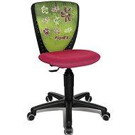 TOPSTAR S'COOL NIKI motív kvety - Detská stolička