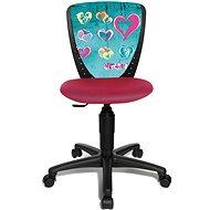 TOPSTAR S'COOL NIKI motív srdca - Detská stolička