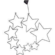 EUROLAMP Kométa, 8 hviezd - Vianočné osvetlenie