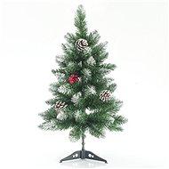 EUROLAMP Vánoční strom, zasněžená jedle 60 cm, Berry - Vianočný stromček