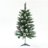 EUROLAMP Vánoční strom, zasněžená jedle 90 cm, Berry - Vianočný stromček