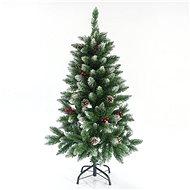 EUROLAMP Vánoční strom, zasněžená jedle 120 cm Berry - Vianočný stromček