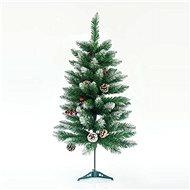 EUROLAMP Vánoční strom, zasněžená jedle 150 cm Berry - Vianočný stromček