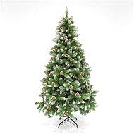 EUROLAMP Vánoční strom jedle s šiškami, 1,80 m - Vianočný stromček