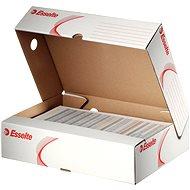 ESSELTE horizontálna 80 mm biela - Archivačná škatuľa
