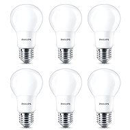Philips LED 8–60 W, E27, 2700 K, matná, sada 6 ks - LED žiarovka