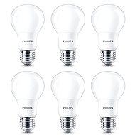 Philips LED 8–60 W, E27, 2700 K, matná, sada 6 ks - LED žiarovka