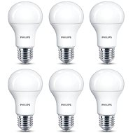 Philips LED 11-75W, E27, 2700K, matte, 6-pack - LED Bulb