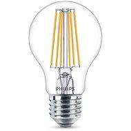Philips LED Classic Filament 8-60W, E27, čira, 2200-2700K - LED žiarovka