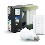 Philips Hue Wireless dimming kit + Philips Hue White 9 W - Stmievač osvetlenia