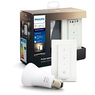Philips Hue White Ambiance 9,5 W + Dimmer Switch Light recipe kit - Stmievač osvetlenia