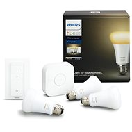 Philips Hue White Ambiance 9,5 W A19 Starter kit - LED žiarovka