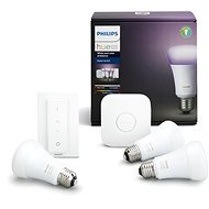 Philips Hue White and Color ambiance 10W E27 starter kit - LED žiarovka