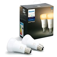 Philips Hue White Ambience 8.5W A60 sada 2ks - LED žiarovka