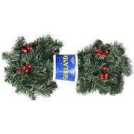 EverGreen® Girlanda s bobuľkami, dĺžka: 180 cm, farba: zeleno-červená - Vianočná girlanda