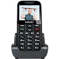 EVOLVEO EasyPhone XD čierno-strieborný - Mobilný telefón