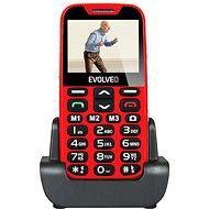 EVOLVEO EasyPhone XD červeno-strieborný