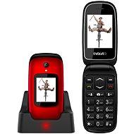 EVOLVEO EasyPhone FD červený - Mobilný telefón