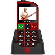 EVOLVEO EasyPhone FM červený - Mobilný telefón
