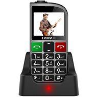 EVOLVEO EasyPhone FM strieborný - Mobilný telefón
