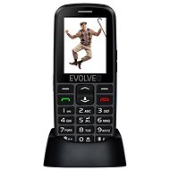 EVOLVEO EasyPhone EG čierny - Mobilný telefón