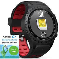 EVOLVEO SportWatch M1S Black Red - Smart hodinky