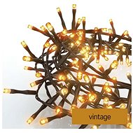 EMOS LED vánoční řetěz – ježek, 8 m, venkovní i vnitřní, vintage, časovač - Svetelná reťaz