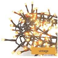 EMOS LED vánoční řetěz – ježek, 12 m, venkovní i vnitřní, vintage, časovač - Svetelná reťaz