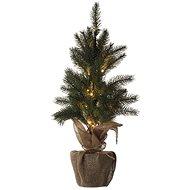 EMOS LED vánoční stromek, 52 cm, 3x AA, vnitřní, teplá bílá, časovač - Vianočný stromček