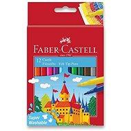 Faber-Castell Castle okrúhle, 12 farieb