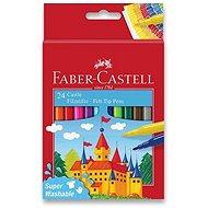 Faber-Castell Castle okrúhle, 24 farieb