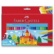 Faber-Castell Castle okrúhle, 50 farieb