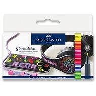 Faber-Castell v neónových farbách, 6 farieb