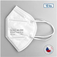 NANO M. ON Disposable Nanofibre Respirator FFP2 NR White 10 pcs - Respirator