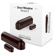 Fibaro Senzor na okná a dvere 2 hnedý - Detektor