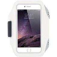 OEM Športové neoprénové puzdro na ruku biele - Puzdro na mobil