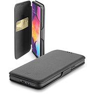 Cellularline Book Clutch pre Samsung Galaxy A50/A30s čierne - Puzdro na mobil