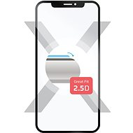 FIXED Full-Cover pre Samsung Galaxy A8 (2018) cez celý displej čierny - Ochranné sklo