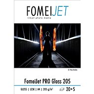 FOMEI Jet PRO Gloss 205 A4 – balenie 20 ks - Fotopapier