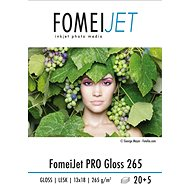 FOMEI Jet PRO Gloss 265 13 × 18 –  balenie 20 ks - Fotopapier